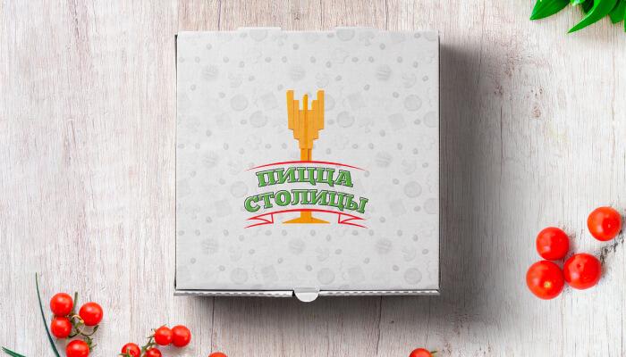 Дизайн фирменного стиля «Пицца Столицы»